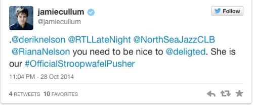 Jamie Cullum tweet