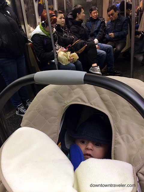 Baby on NYC Subway