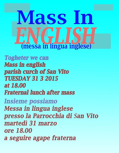 san vito messa in inglese