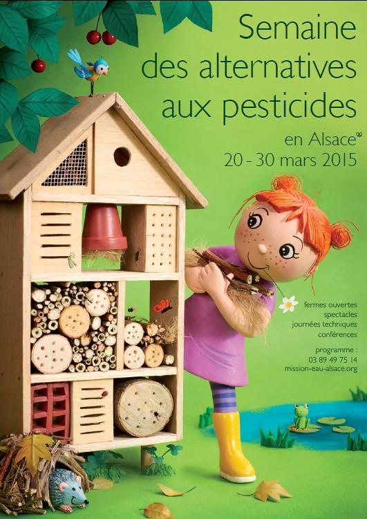 Semaine des alternatives aux pesticides en Alsace du 20 au 30 mars 2015