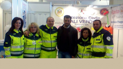 Le Ali Verdi con il sindaco di Bari Antonio Decaro