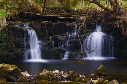 longexposure waterfall stream breconbeaconsnationalpark garwnant nikonglass nikond5300