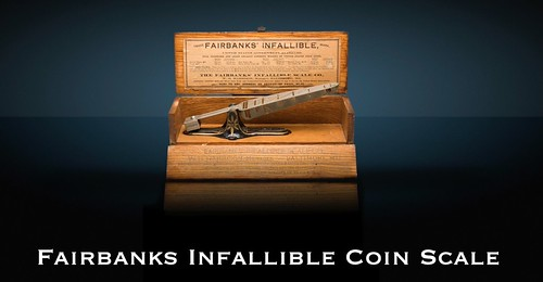 Fairbanks Infallible Coin Scale