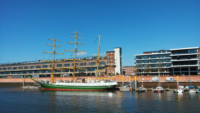 Alexander von Humboldt has dropped anchor in Bremen! | No Apathy Allowed