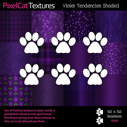 PixelCat Textures - Violet Tendencies Shaded