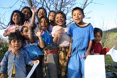 Niños y niñas a los que llega el Conafe