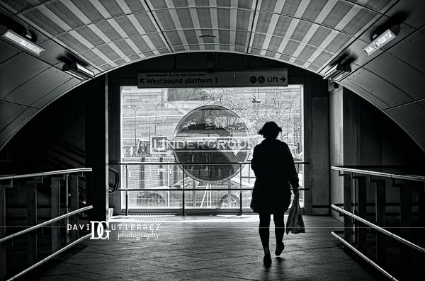 """Probably Stairs Or Maybe Lift?"" London Underground, UK  - David Gutierrez Photography, London Photographer"