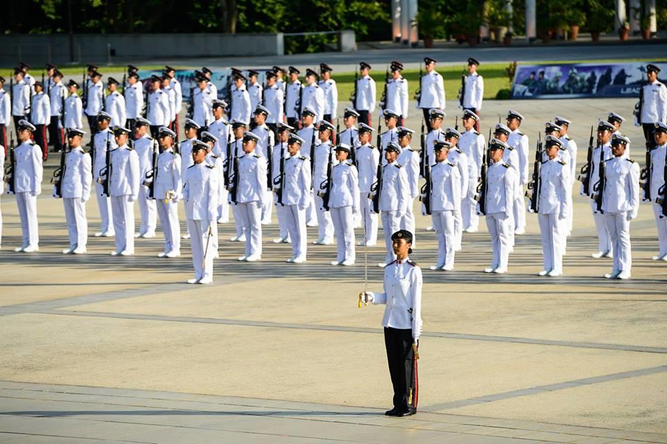 Parade commander