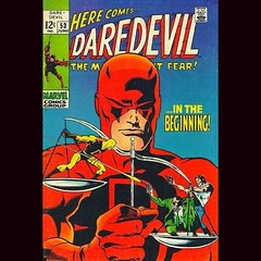Finish #Daredevil #Netflix. I think this belongs in the top third of Marvel movies. Took risks but they paid off. Excellent. #comics