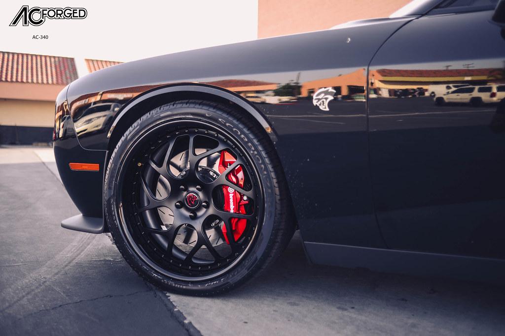 2015 Dodge Challenger Srt Hellcat On 22 Ac Forged Wheels Flickr
