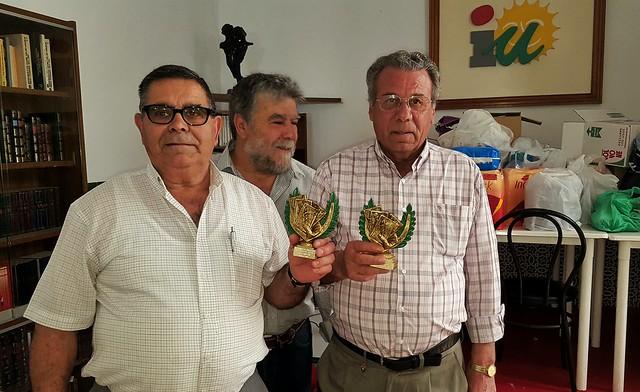 Entrega trofeos III Campeonato de Subastao