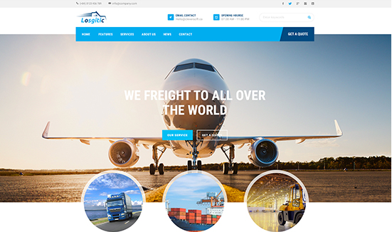 ZT Logistic v1.0.1 – Responsive Joomla Logistic Warehouse Transport Template