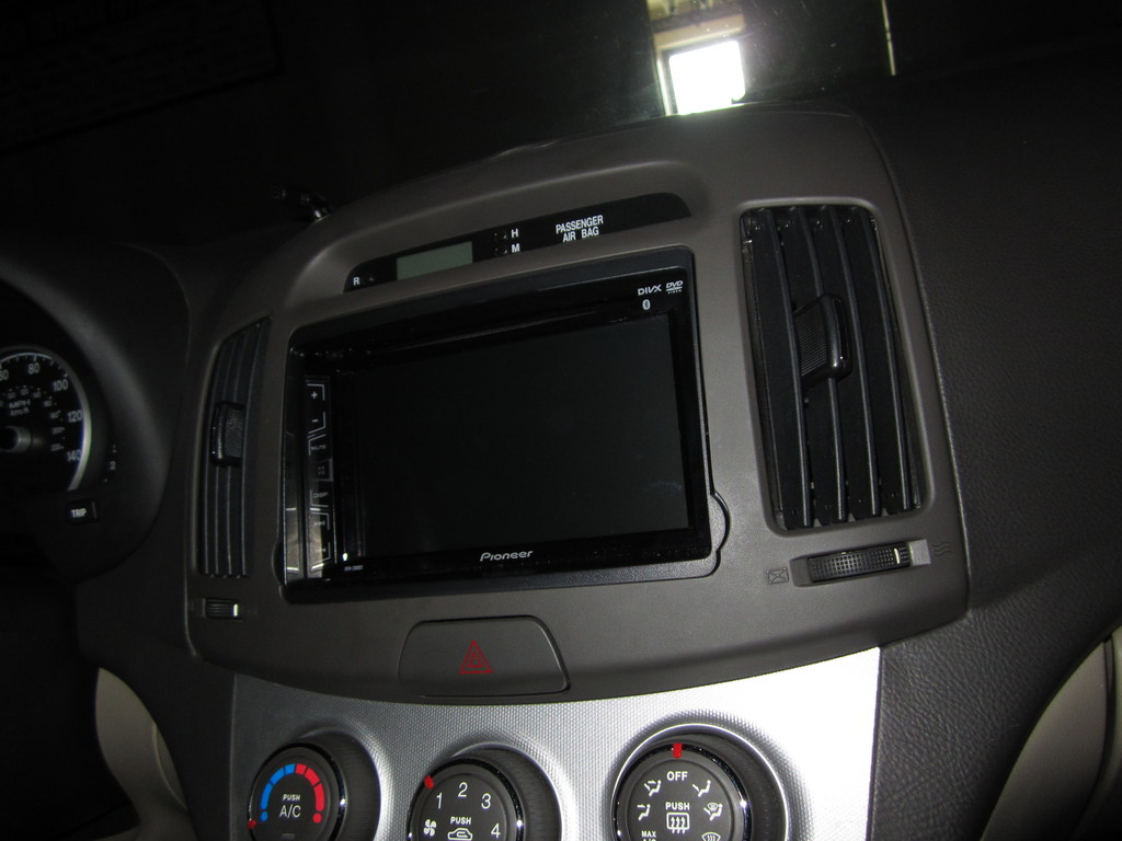 just installed double din stereo w backup camera