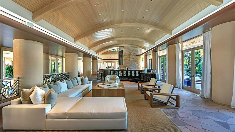 Фото | Дизайн большого зала в доме