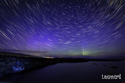 Aurora Star-trails
