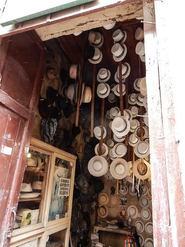 Cuenca: atelier de fabrication de chapeaux panama