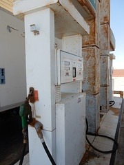 Rusted Gas Station