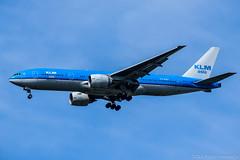 KLM Asia Boeing 777-206ER PH-BQF