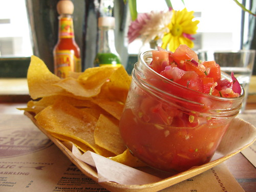 corn chips & salsa
