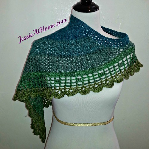Juliette Shawl | Free Crochet Pattern | Jessie At Home