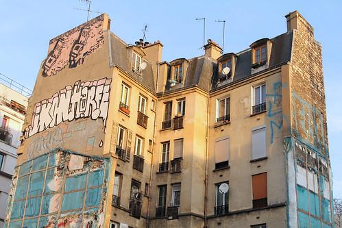 Boulevard de la Chapelle - Paris (France)