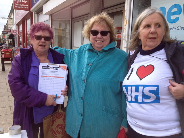Hove stands up for the NHS