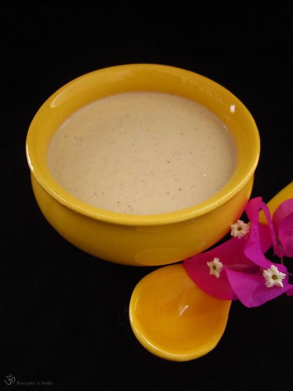 Hrachova kremova polievka