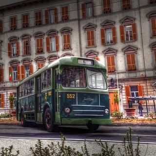 HDR - Seac Tubocar Casaro - Piazza Verdi La Spezia
