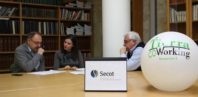 SECOT Salamanca presta asesoria a los emprendedores de Tierra Coworking