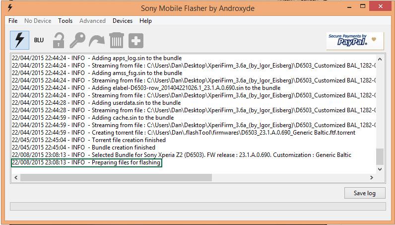 Update la firmware pentru telefoane Xperia 143