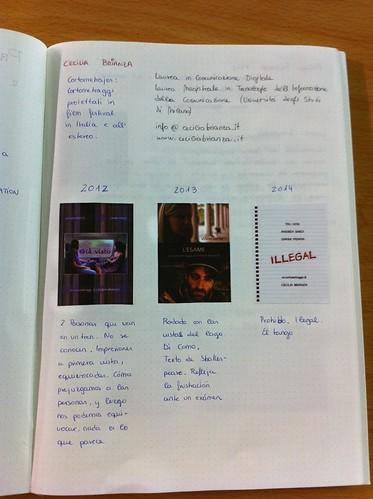 Book studentessa spagnola