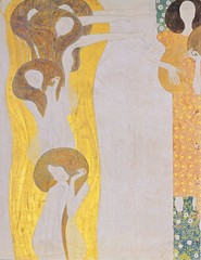 Gustav Klimt, Beethoven Fries - Détail (Wikimedia Commons)