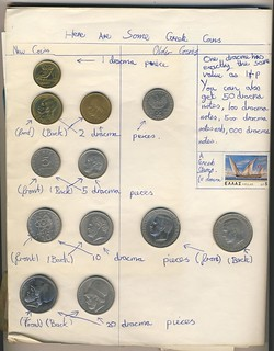 'Here are some Greek coins': school project 1979