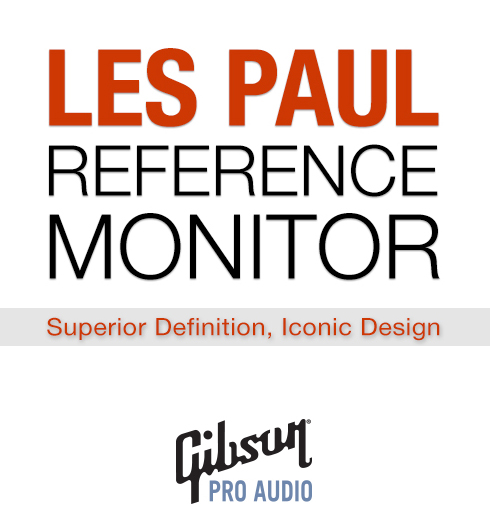 gibson monitores les paul logo
