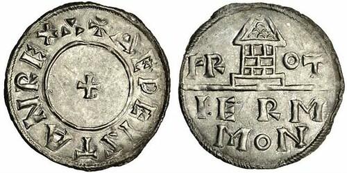 King Aethelstan's penny