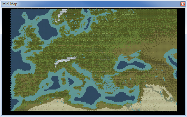 166x118 'Accurate' Europe (aka the Meval Map) | CivFanatics Forums on
