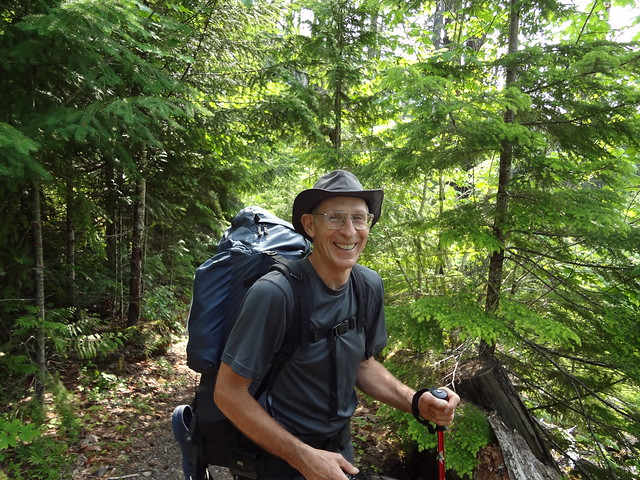 Steve On The Trail