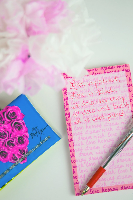 Betsey Johnson Kleenex Quote