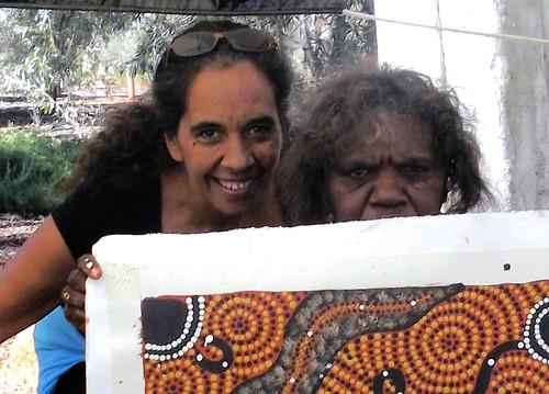 063 Indingenous Art - Uluru