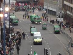 St Patrick's Day Parade 2015 - Digbeth - bin lorries