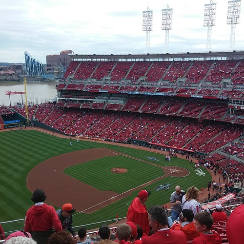 #Reds Opening Day with @genmae5