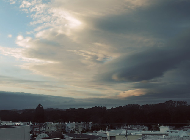 Clouds POV 1333 26th ave; The Sunset, San Francisco (2015)