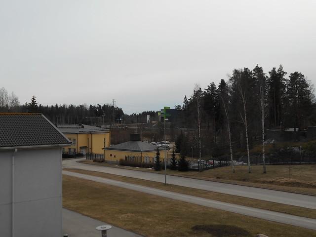 Osittainen auringonpimennys Espoossa 20.3.2015 - Tilanne pimennyksen päätyttyä