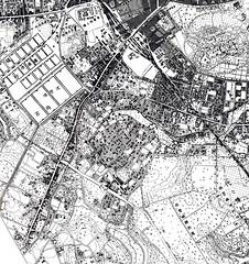 1909 東京都市地図2 東京北部(柏書房)p.77