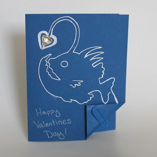 Angler Fish Valentine