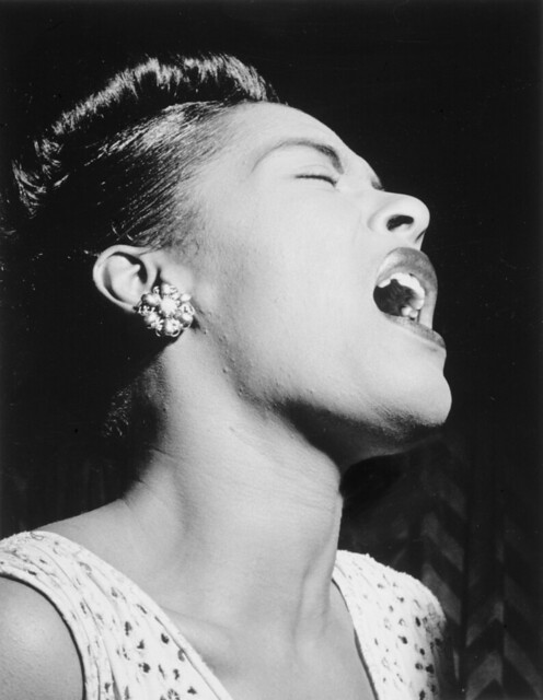 Billie Holiday (by William Gottlieb)