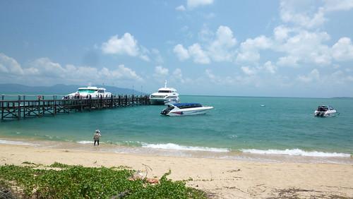 今日のサムイ島 3月24日 ロンプラヤピアーメナムビーチ