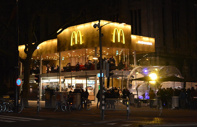 McDonalds Coosingel opening