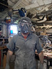 Shae Helmet Try On