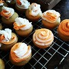 Creamsicle Swirl Cupcakes